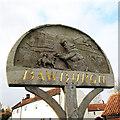 TG1508 : Bawburgh village sign by Adrian S Pye
