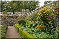 NU0625 : Garden border by Ian Capper