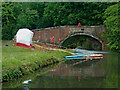 SO8273 : Oldington Bridge north of Stourport in Worcestershire by Roger  Kidd