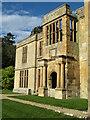 NZ0878 : Belsay Castle - manor house extension by Gordon Hatton