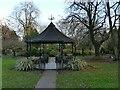 SE2233 : Pudsey Park: bandstand by Stephen Craven