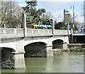 ST1776 : Cardiff Bridge by Colin Smith