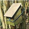 TQ0350 : Merrow Downs - Box by Colin Smith