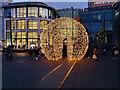 SJ8398 : Globe in Exchange Square by David Dixon