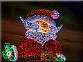 SJ8397 : Santa in Manchester by David Dixon