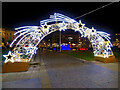 SJ8498 : Starry Arch at Piccadilly Gardens by David Dixon