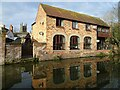 SO8554 : Converted canalside building by Philip Halling