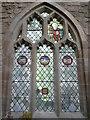 SO7740 : Window inside Little Malvern Priory (Choir) by Fabian Musto