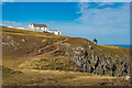 NT9169 : St Abbs's Lightkeeper's Cottage and Lighthouse by Ian Capper