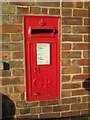 TA0256 : Postbox  on  the  wall  at  Bradshaws  Bell  Mill  offices by Martin Dawes