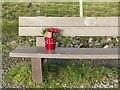 SK6144 : Socially distanced Merry Christmas by Alan Murray-Rust