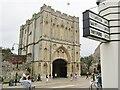 TL8564 : Bury St Edmunds - Abbey Gate by Colin Smith