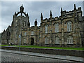 NJ9308 : King's College, Aberdeen - west entrance by Stephen Craven