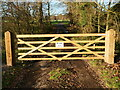 TG2825 : Gated entrance to Church by David Pashley