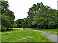 NJ9308 : Open space at the west end of Seaton Park by Stephen Craven