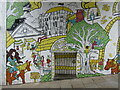TG2308 : Norwich - Mural by Colin Smith