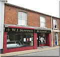 TM4290 : Beccles - Seppings - Butchers by Colin Smith