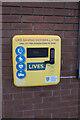 TF0920 : Defibrillator at the corn exchange by Bob Harvey