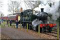 SK3900 : No. 5542 running round at Shenton Station by Chris Allen