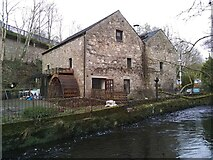 NS5574 : Gavin's Mill and the Allander Water by Richard Sutcliffe
