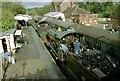 TQ4023 : 9017 & 3440 run round their train at Sheffield Park station, Bluebell Railway by Martin Tester