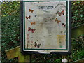 TG2932 : Knapton Cutting sign by David Pashley