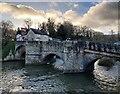 SO5174 : Ludford Bridge and the River Teme by Mat Fascione