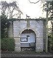 SK9537 : A grade II listed bus shelter by Bob Harvey