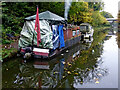 SJ8709 : Living on the canal in Staffordshire by Roger  Kidd