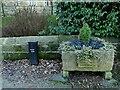 SE2443 : Bramhope Jubilee planter by Stephen Craven
