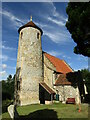 TG1508 : Bawburgh - Church by Colin Smith