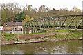 SJ6902 : Jackfield and Coalport Memorial Bridge by Ian Capper
