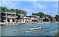 SP5105 : Busy Boathouses by Des Blenkinsopp