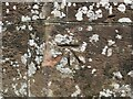 NY3846 : Ordnance Survey Cut Mark by Peter Wood
