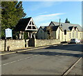 SO4107 : Lychgate, Chepstow Road, Raglan, Monmouthshire by Jaggery