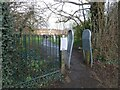 SJ9594 : Access to Trans Pennine Trail from Garside Street by Gerald England