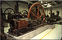 NT2276 : National Museums Collection Centre, Granton - steam engine by Chris Allen