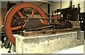 NT2276 : National Museums Collection Centre, Granton - steam engine from  a gasworks by Chris Allen