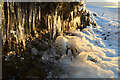 NC9124 : Icicles, above Strath of Kildonan, Sutherland by Andrew Tryon