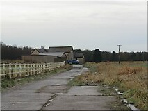NT2597 : House near Inchdairniemuir Plantation by Becky Williamson
