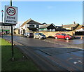 ST4287 : From 30 to 20, Newport Road, Magor, Monmouthshire by Jaggery