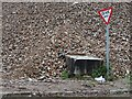 SO7844 : Rubble on the former Qinetiq site by Philip Halling