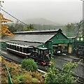 SH5859 : Snowdon Mountain Railway Yard by PAUL FARMER
