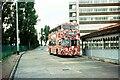 SU6505 : Cosham bus terminus – 1971 by Alan Murray-Rust
