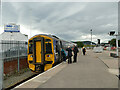 NH6645 : Ardgay train at Inverness by Stephen Craven