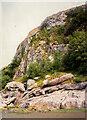 SD3973 : Cliff and rocks, Humphrey Head by Humphrey Bolton