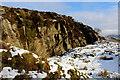 SE0255 : Disused Workings below High Crag by Chris Heaton