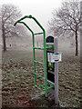 SP4774 : Outdoor gym equipment - Cawston Grange by Stephen McKay