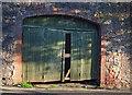 SX9164 : Door in wall, Thurlow Road, Torquay by Derek Harper