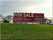 SE2237 : Former Leeds City College campus - For Sale sign by Stephen Craven
